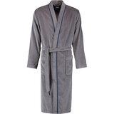 cawo Халат чол, cotton 100% , Kimono, сірий, розмір 48