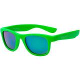 Детские солнцезащитные очки KOOLSUN Wave Neon Green (Размер 1+) (KS-WANG001)