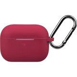 2e Apple AirPods Pro, Pure Color Silicone, Cherry red