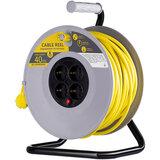 Сетевой удлинитель на катушке 2E 4XSchuko 40 м Yellow (2E-U04RE40M)