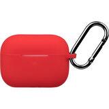 2e Apple AirPods Pro, Pure Color Silicone, Red