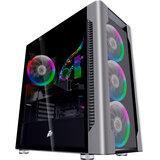 1stplayer DX-4R1-PLUS-BK Color LED Black без БП