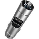 baseus ФМ-модулятор Energy Column 3.1A 2USB silver